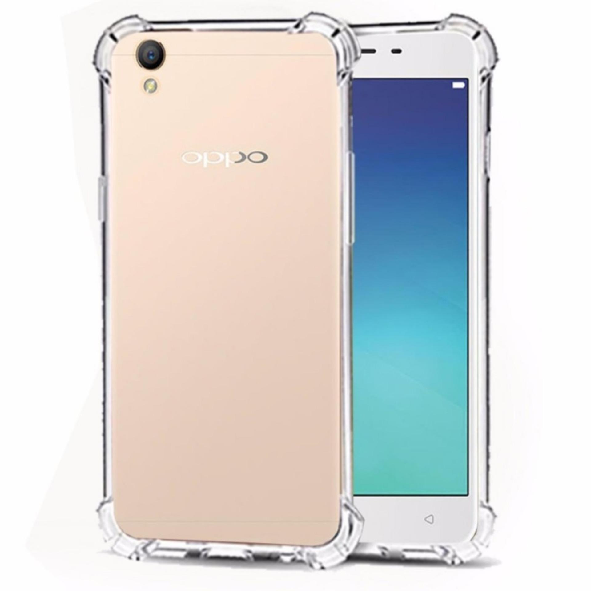 ShockCase for Oppo Neo 9 / A37 / A37T / A37F | Premium Softcase Jelly Anti Crack Shockproof – Transparan