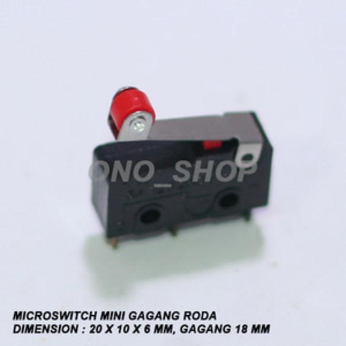 Rp 4.000. Microswitch Mini Gagang Roda PendekIDR4000