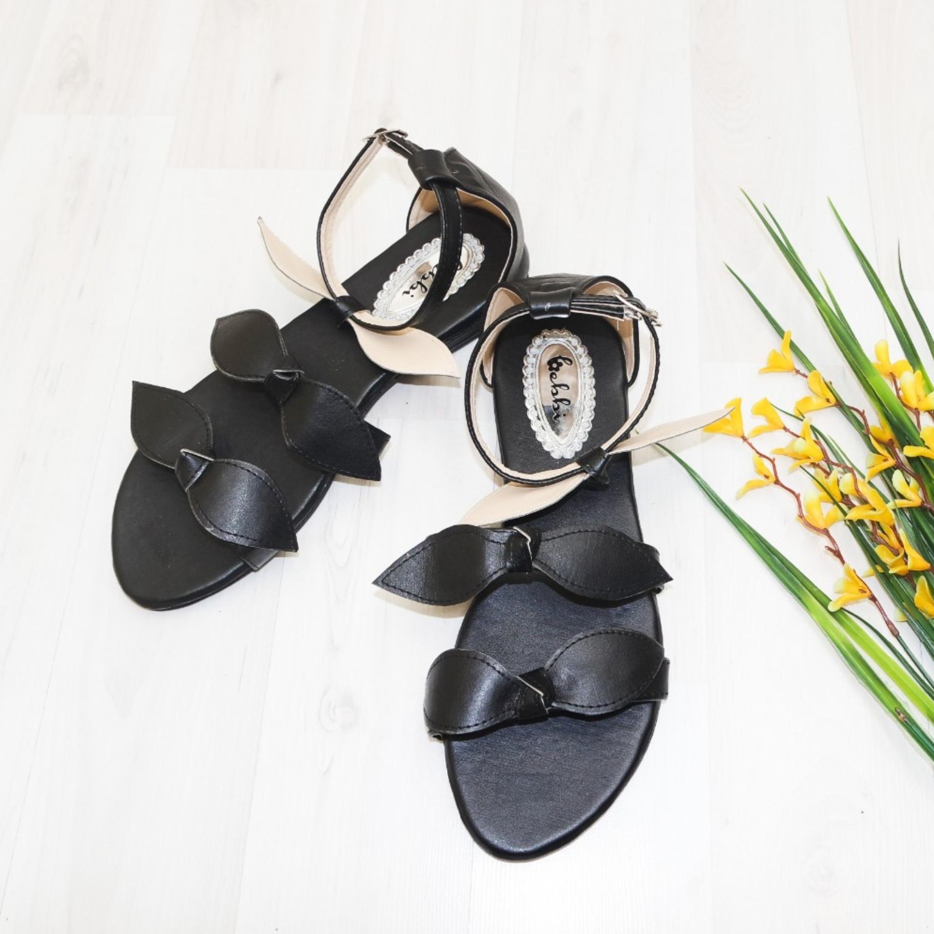 Bebbishoes-Rubi Sandal-Black