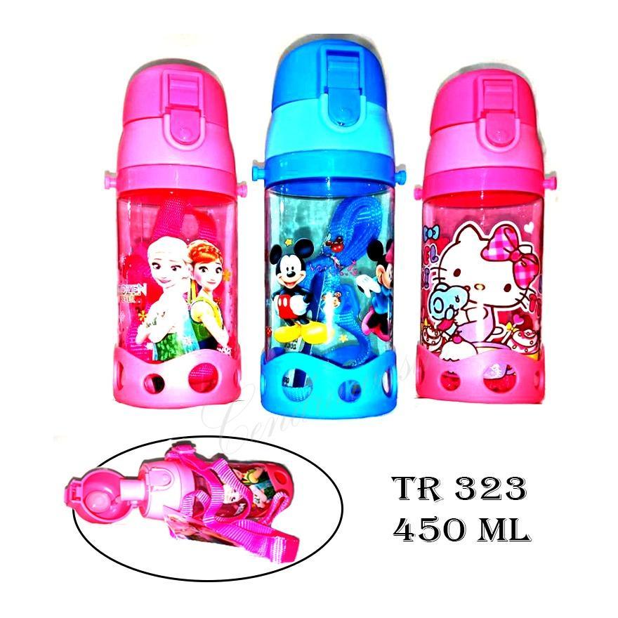 Botol Minum Anak Karakter TR323 - 450 ML - Random