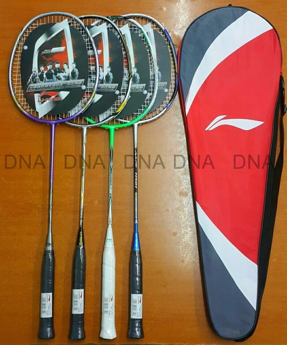 LIMITED EDITION HARGA HEMAT Raket Badminton Li Ning Import Senar Tas