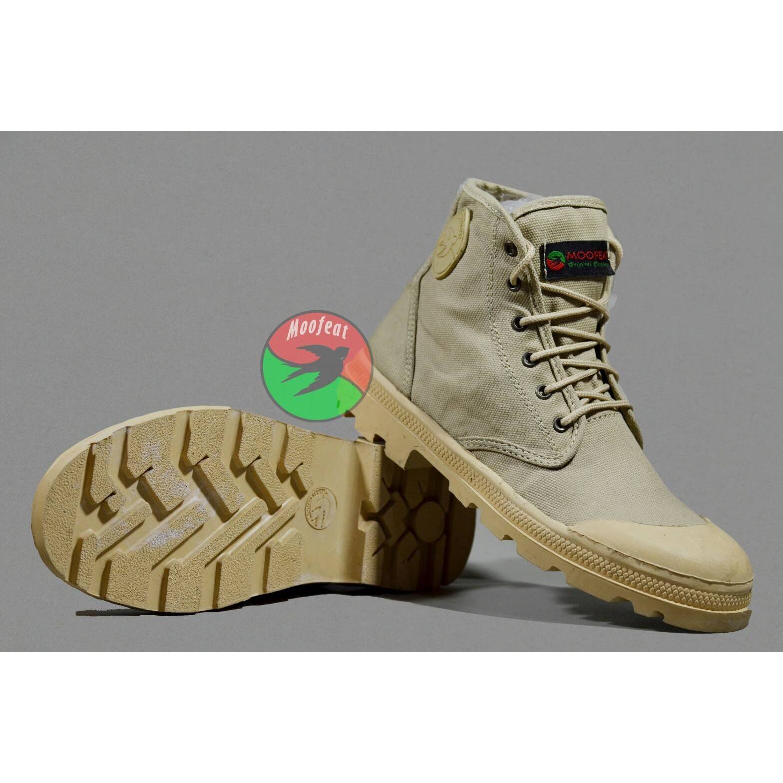 sepatu boots pria MOOFEAT ORIGINAL sepatu casual pria kerja sepatu tracking  pria 7404b3a756