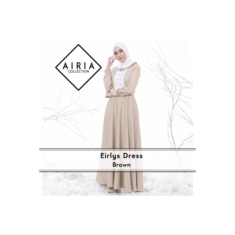 Rana Eirlys Dress/Gamis Pesta/Baju Muslim Couple