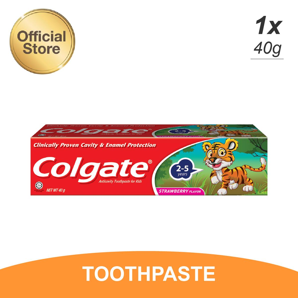 Buy Sell Cheapest Colgate Toothpaste Sugar Best Quality Product Pasta Gigi Anak Childrens Tooth Paste Kids Tiger 40gr