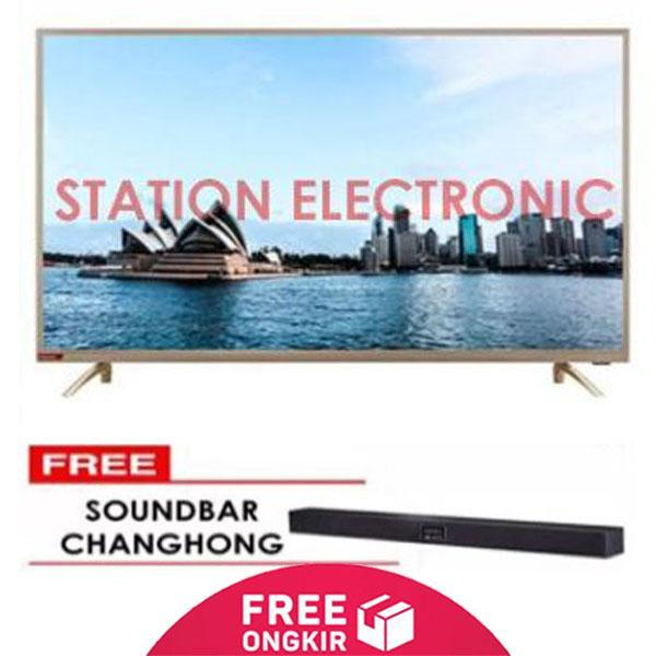 CHANGHONG Full HD Smart Digital plus Free Soundbar LED TV 40