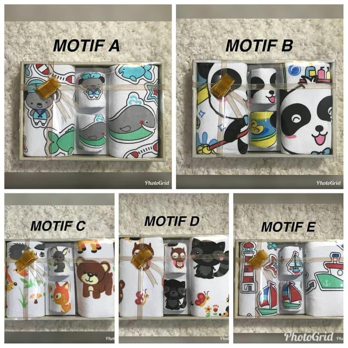 Curly Baby Handuk Set Microfiber / Handuk Bayi / Gift Set Handuk / Untuk Kado / Sudah Sni - Pilih Motif Di Variasi Warna By Mom & Baby Collections.