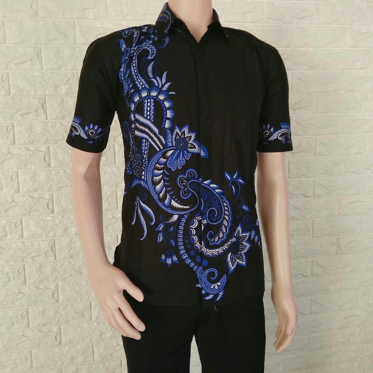Pakaian Pria Model Kemeja Batik Pria Kemeja Batik Pekalongan Baju Batik  Cowok Baju Batik Kantor fb392e73e7
