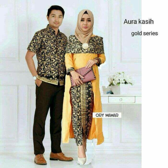 TERMURAH - Batik Couple AURA KASIH
