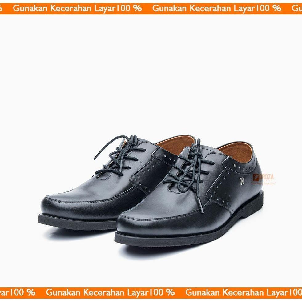 Sepatu Pria Casual Sneakers Kulit Asli Handmade Model Pantofel Derby Oxford Low Boot BLY-737