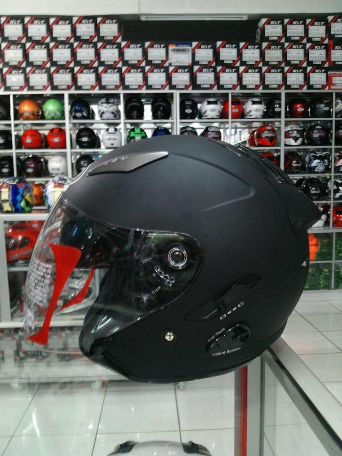 kyt Galaxy slide 2 visor    helm kyt / helm bogo / helm full face