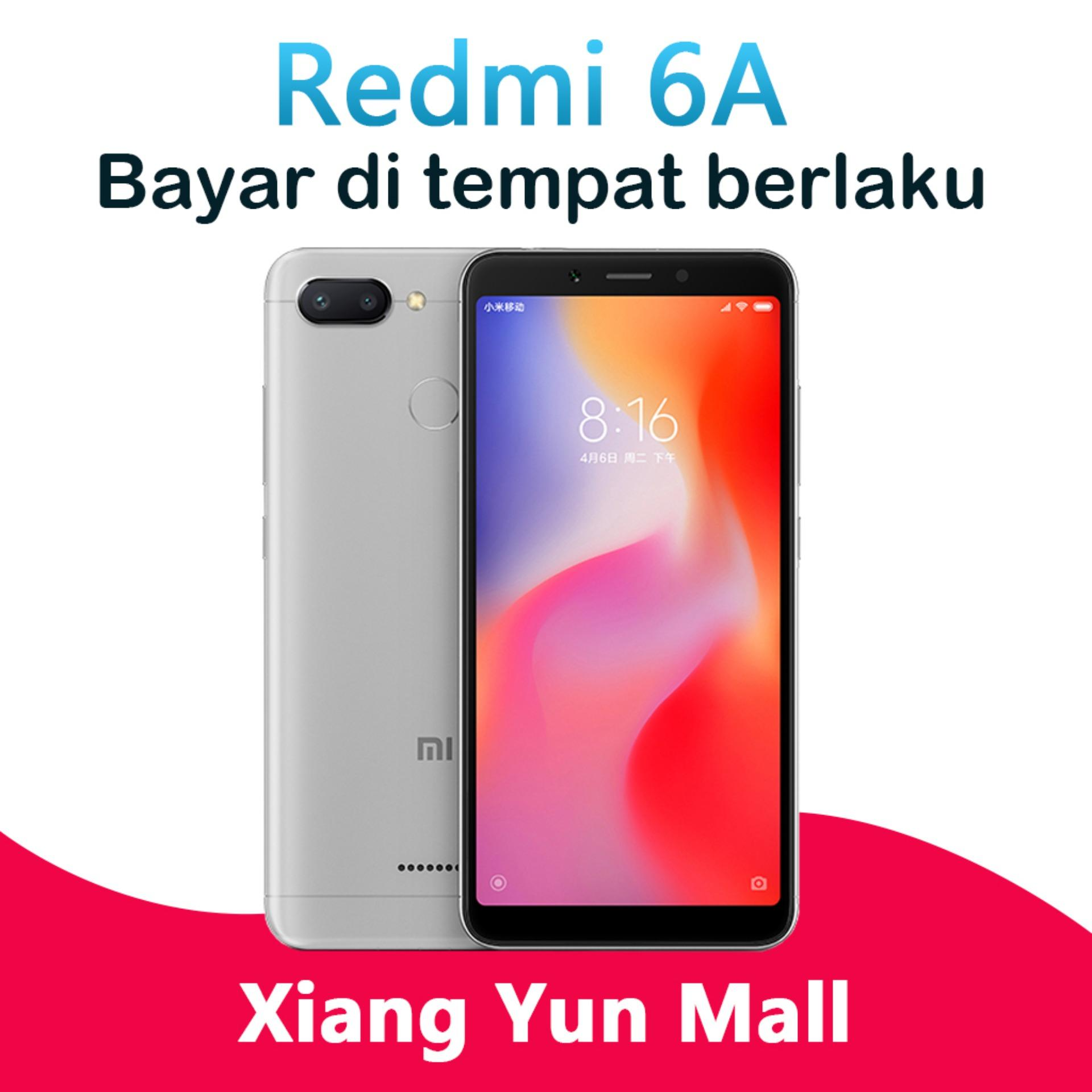 Xiaomi Redmi 6A - 2GB/16GB Smartphone 4Gphone Face Unlock