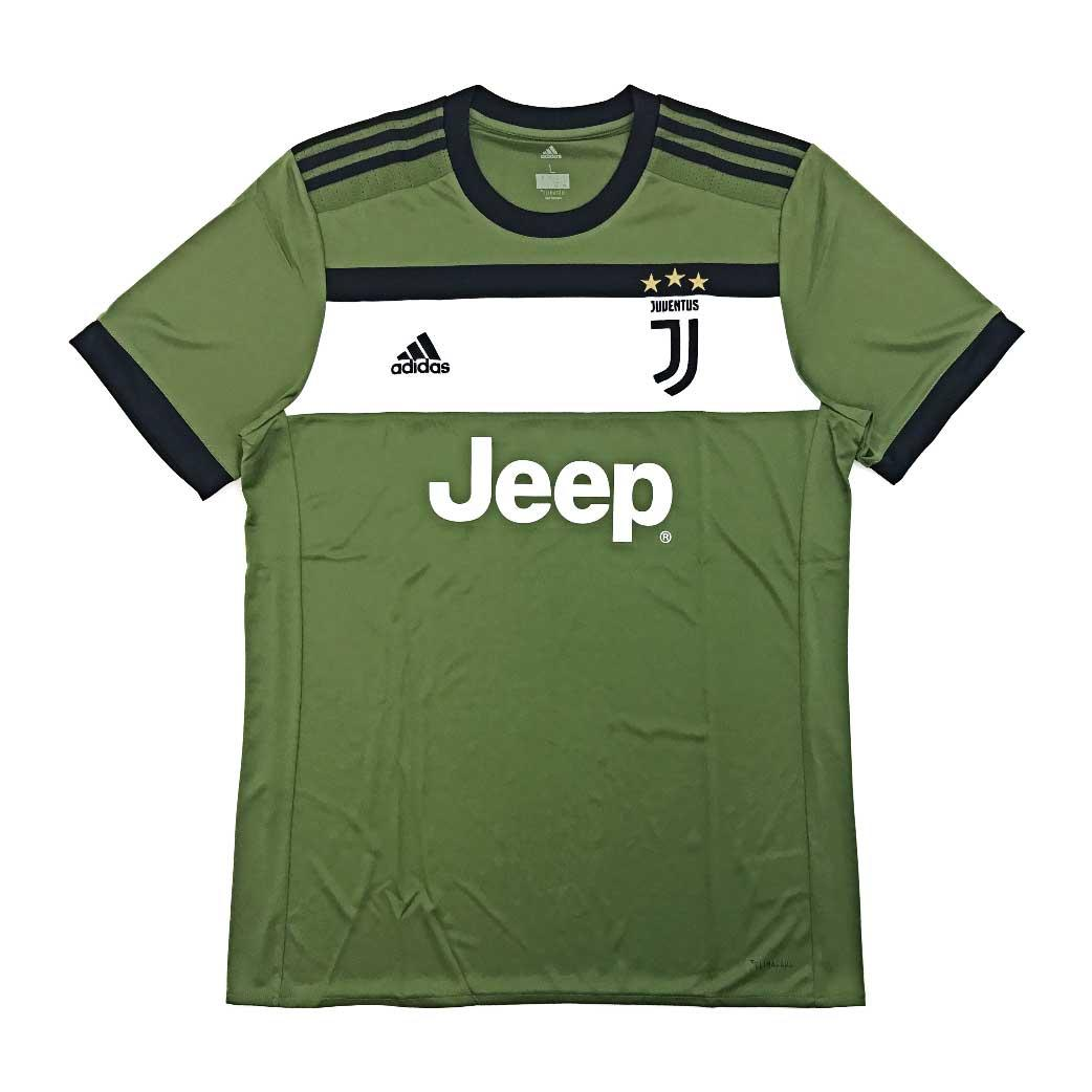 Zoc - Jersey Bola Kaos Olahraga T-Shirt Juve Home Away 3RD 17/18