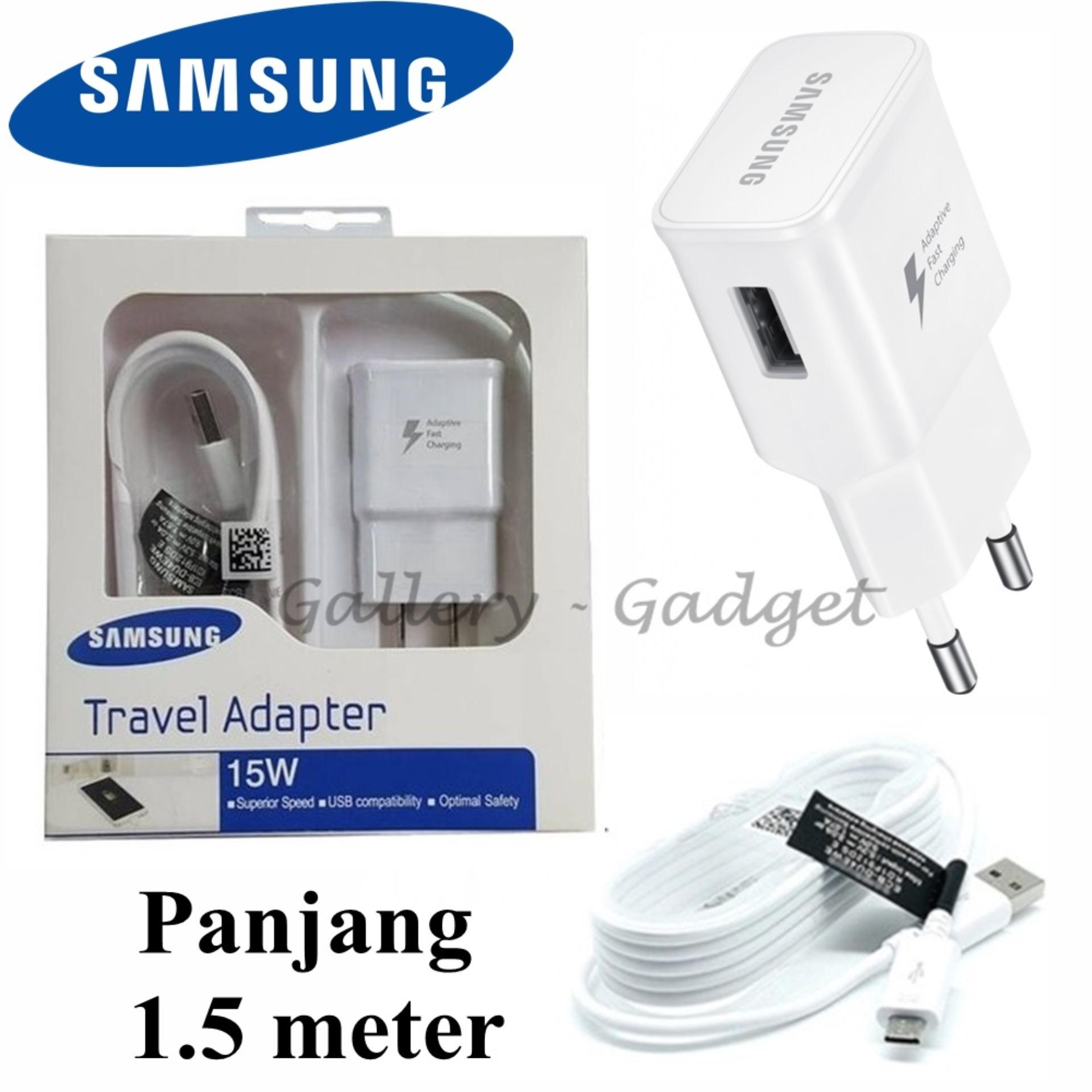 Wall Chargers Samsung Batok Charger 2a Adapter Fast Charging Travel Micro Usb 15w Original