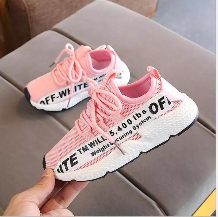 azkashoes Sepatu Wanita Sneaker ANB Pink