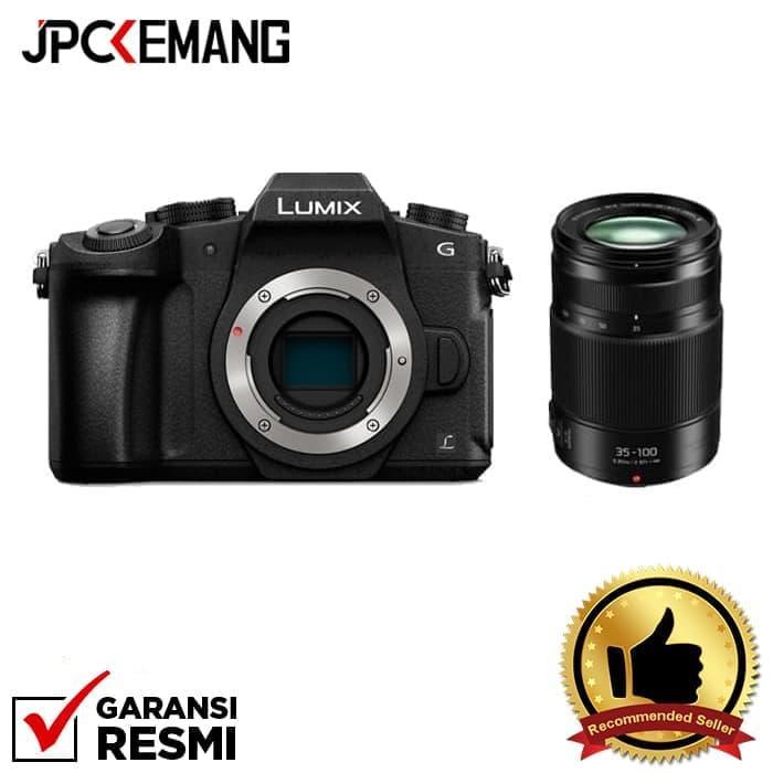 Panasonic Lumix DMC-G85 Body (Black) + Panasonic Lumix G X Vario 35-100mm f/2.8 II POWER O.I.S jpckemang