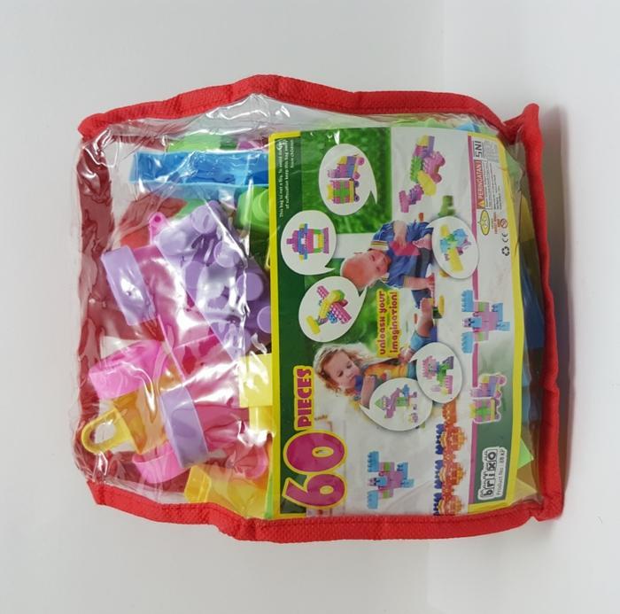 Mainan Anak Perempuan Laki Laki Building Block Happy Kids Tas ... - B B Kids Tokopedia. Source · LEGO BLOCK PUZZLE BRICKS ISI 60 PCS MAINAN EDUKASI ANAK