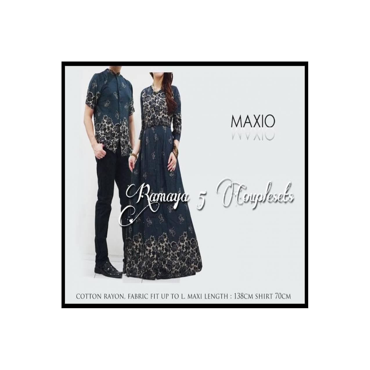 (New Product!!) Ramaya Baju Gamis Couple Baju Buat Lebaran ....