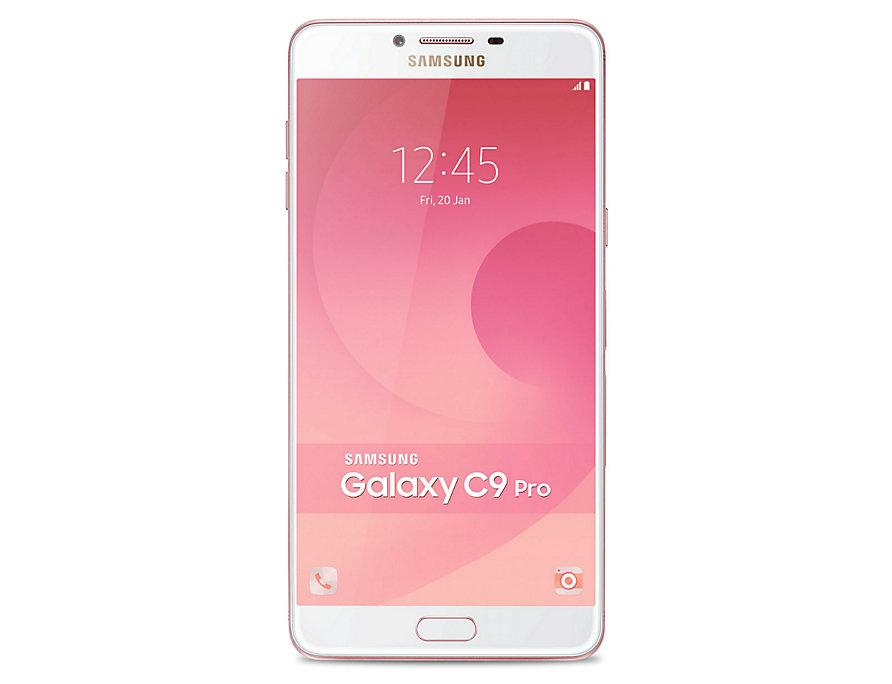 Samsung Galaxy C9 Pro - 6GB/64GB - Pink Gold - Garansi Resmi