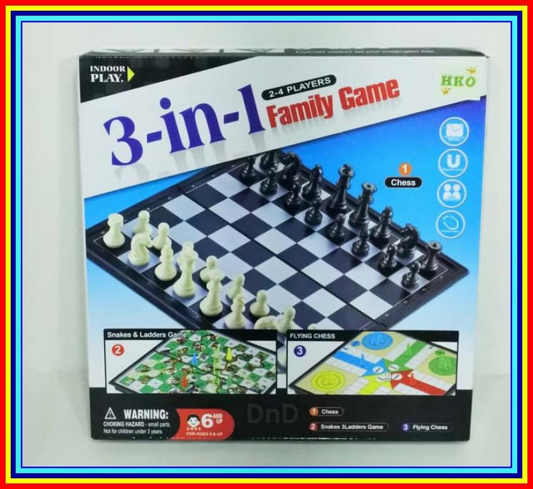Buy Sell Cheapest Ular Anak Best Quality Product Deals Kolam Renang Perosotan Viking Pool Mainan Keluarga 3 In 1 Family Game Chess Ludo Snacker Catur