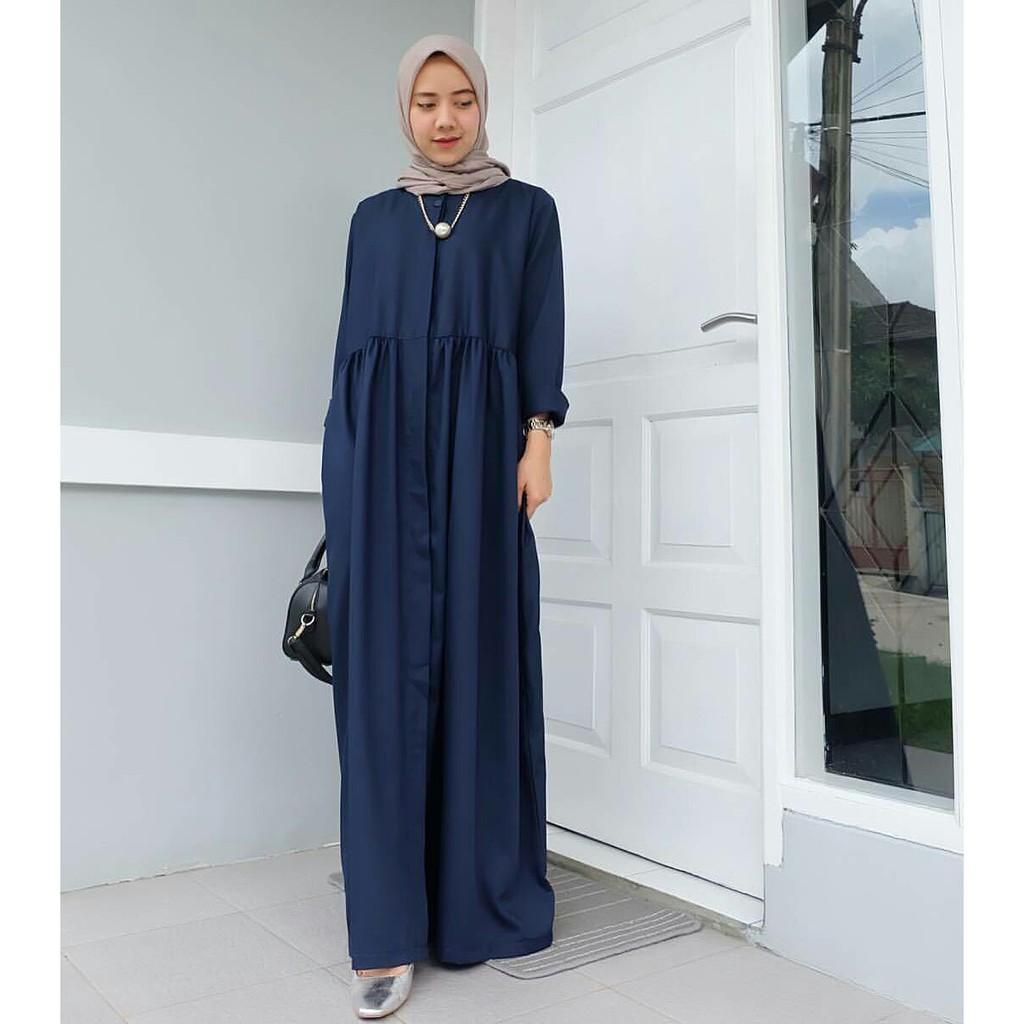 Harga mds alara dress gamis termurah putih wanita dress kekinian gamis muslim baju grosir mustard |