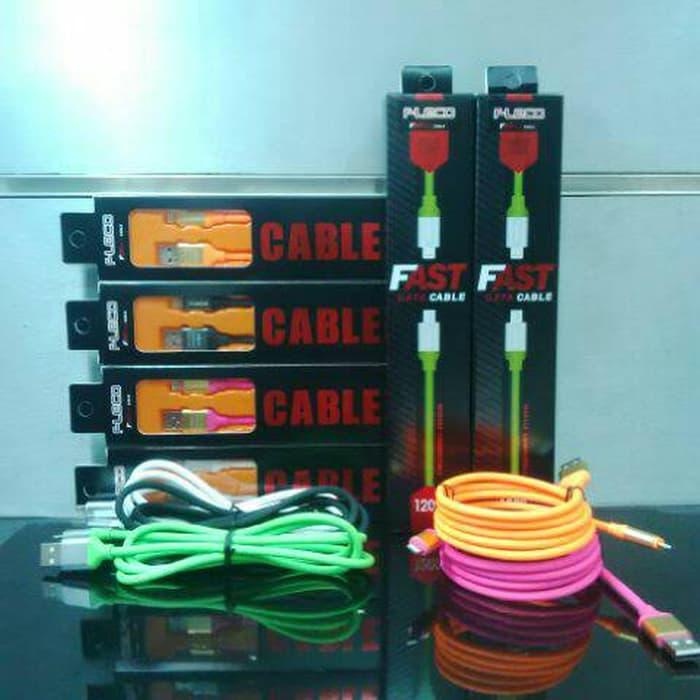 OBRAL Kabel Usb FLECO Rubber iPhone 5 Fast Charging Data Cable 1200Mm TERMURAH