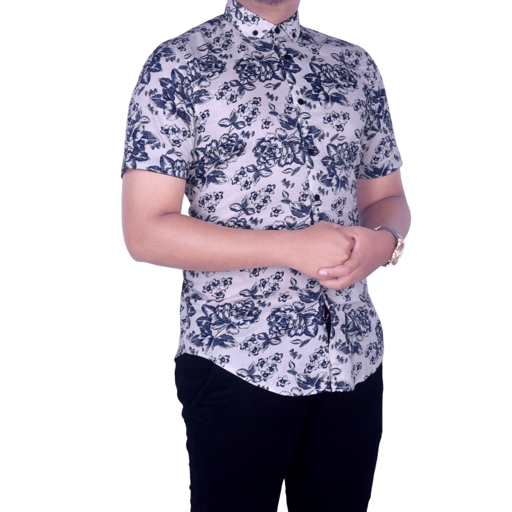 Dgm_Fashion1 Kemeja Pendek Pria PANTAI/Kemeja Polos/Kemeja Batik/Kemeja Casual/Kemeja Men/Kemeja Ox