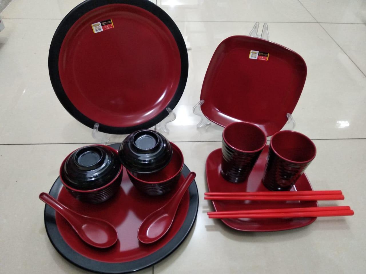 ... Golden Dragon Mangkok Mie Bakso Melamine 7 Set 6pieces Daftar 3 Pcs W0705 Melamin Kaki 5