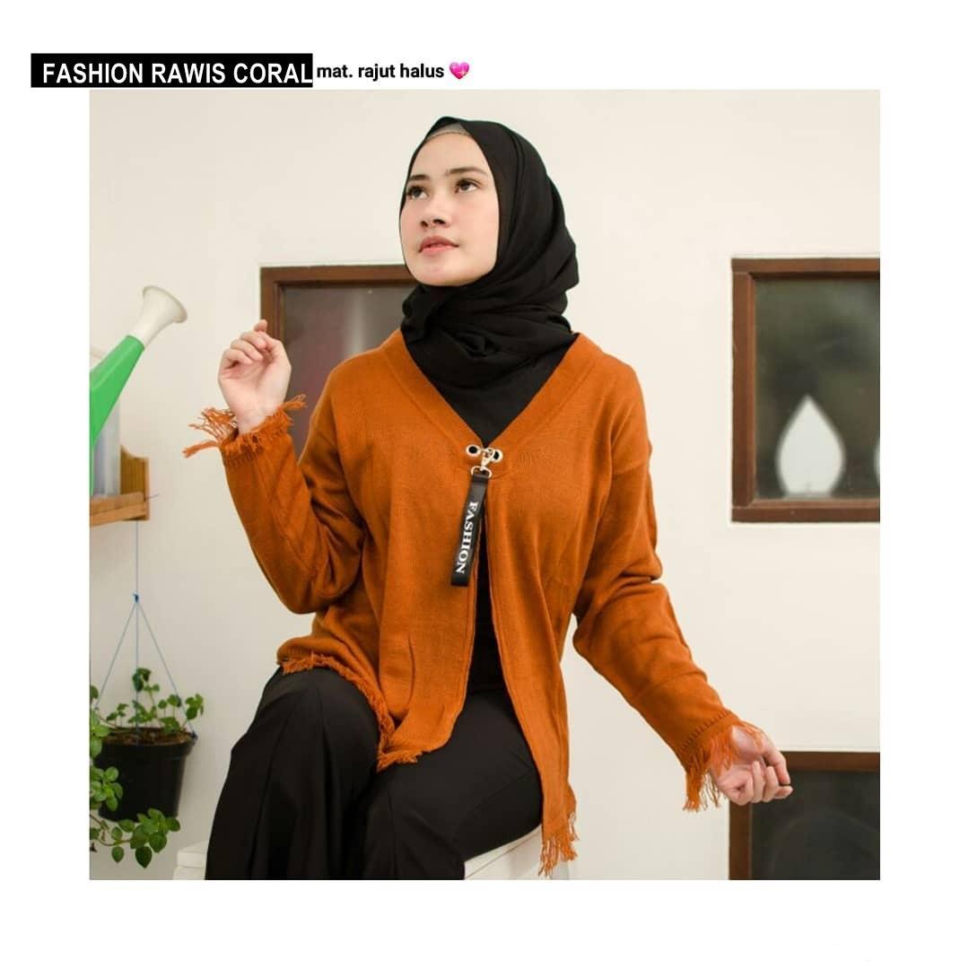 FASHION RAWIS ||| loekita ||| grosir jaket sweater baju atasan blouse rajut hijab terbaru kekinian wanita murah