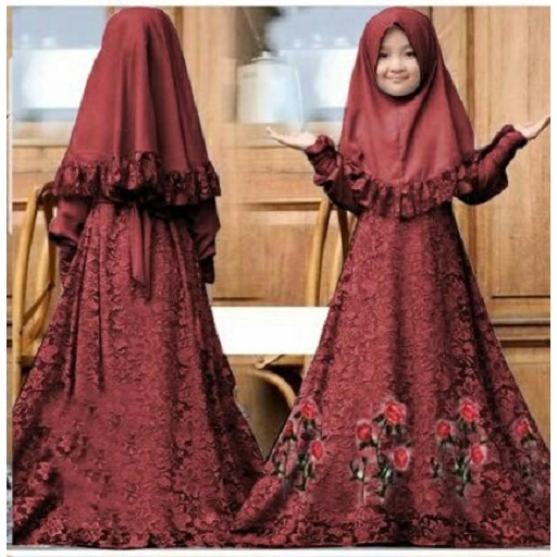 Pakaian Anak Perempuan Gamis Anak Perempuan Gamis Anak Terbaru Baju Anak Stelan