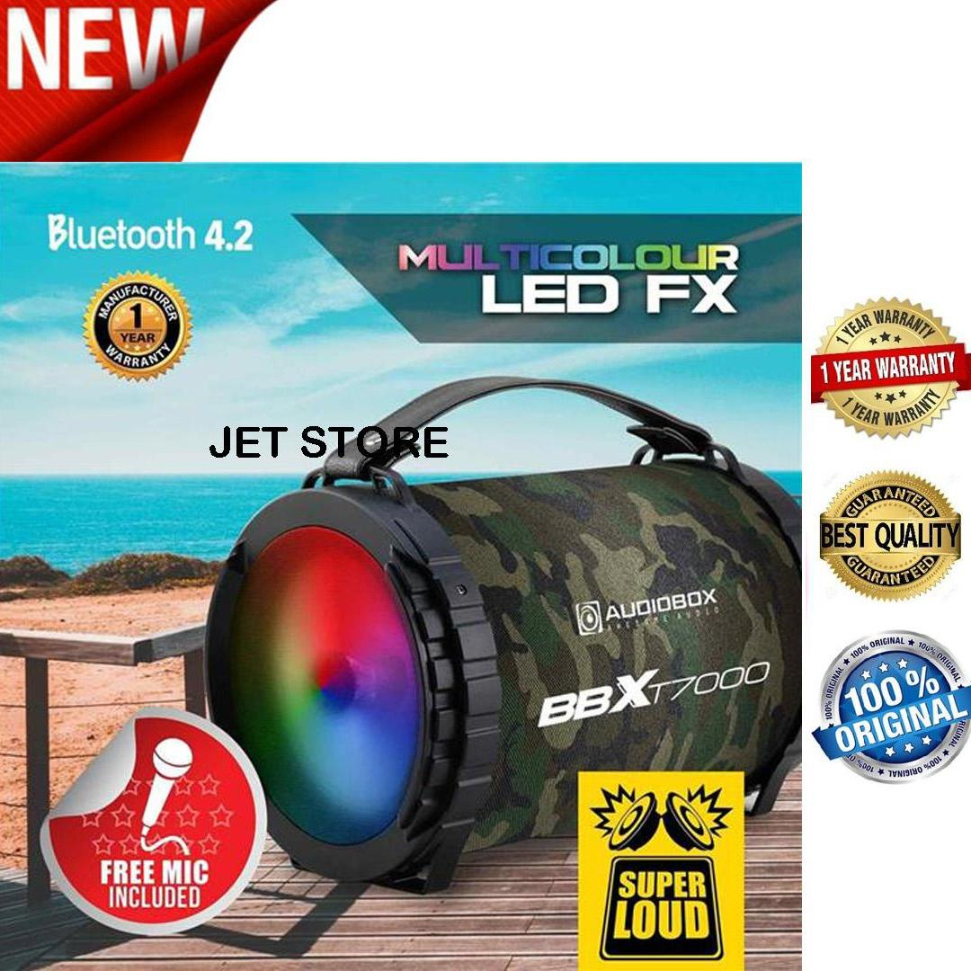 Audiobox  BBX T7000 Super Loud - Speaker  BLUETOOTH, TF-Card, USB, FM RADIO, AUX IN, with MIC.