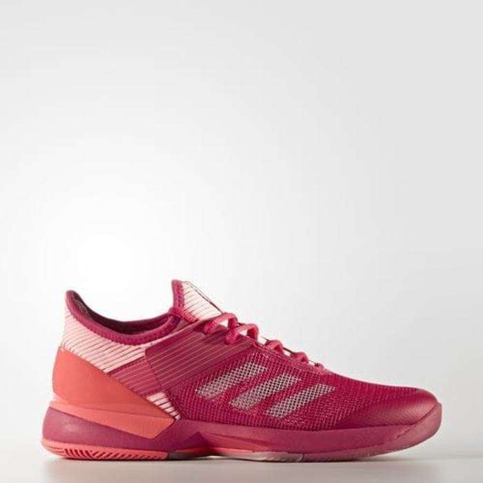 Sepatu Tennis Adidas Adizero Ubersonic 3 - Red/Pink Original