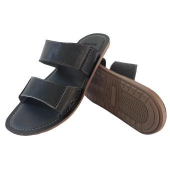 Pencarian Termurah Sandal Slop Pria Casual Kulit Sapi - Black harga penawaran - Hanya Rp57.540