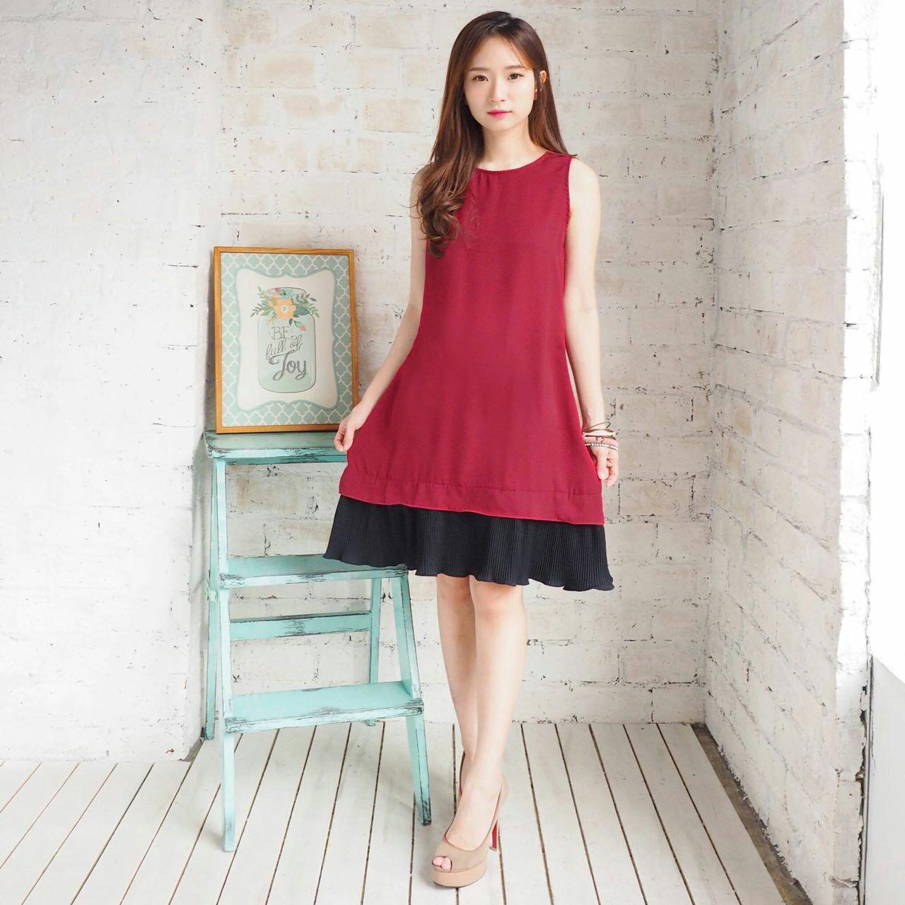 Media Fashion Shop - Baju Wanita - Blouse wanita - Atasan wanita –Prisket Drees –