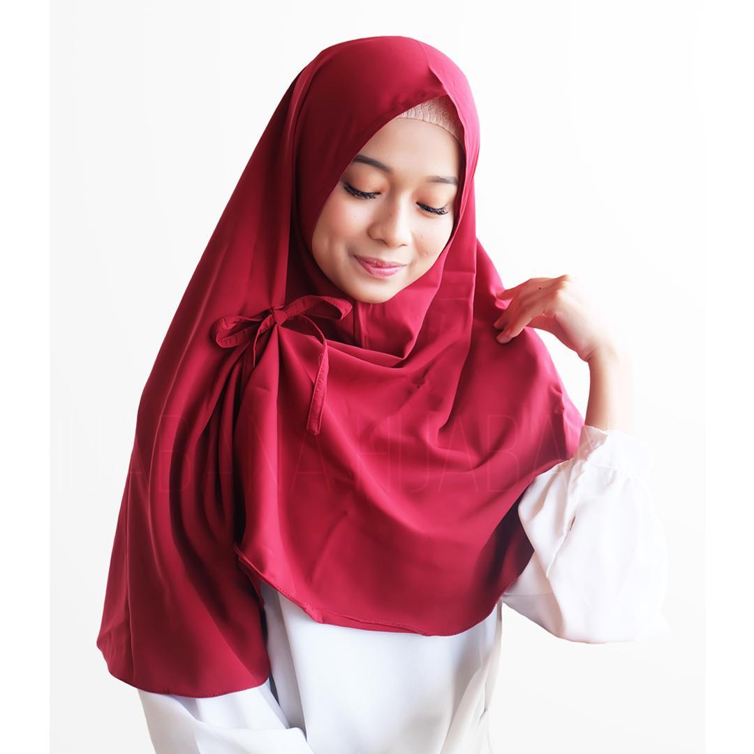 Hijab Instan Kerudung Instan Jilbab Khimar Kanza - Jilbab Instan - Pashmina Hijab Khimar