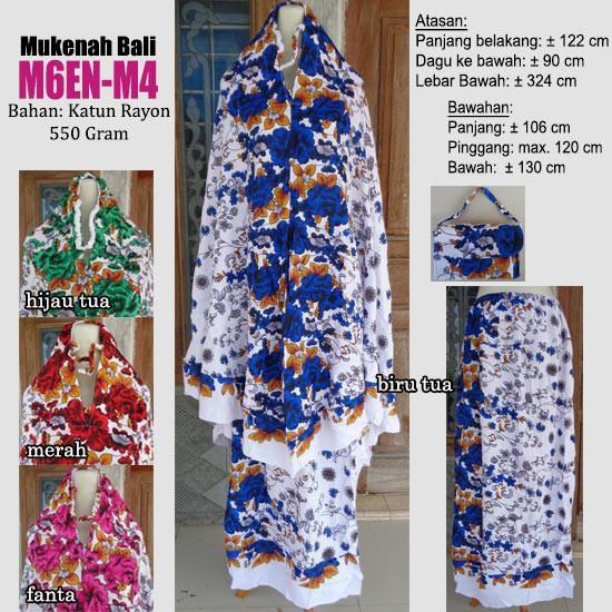 PROMO RAMADHAN - Mukenah bali motif cantik harga murah meriah (M6EN-M3 ungu)