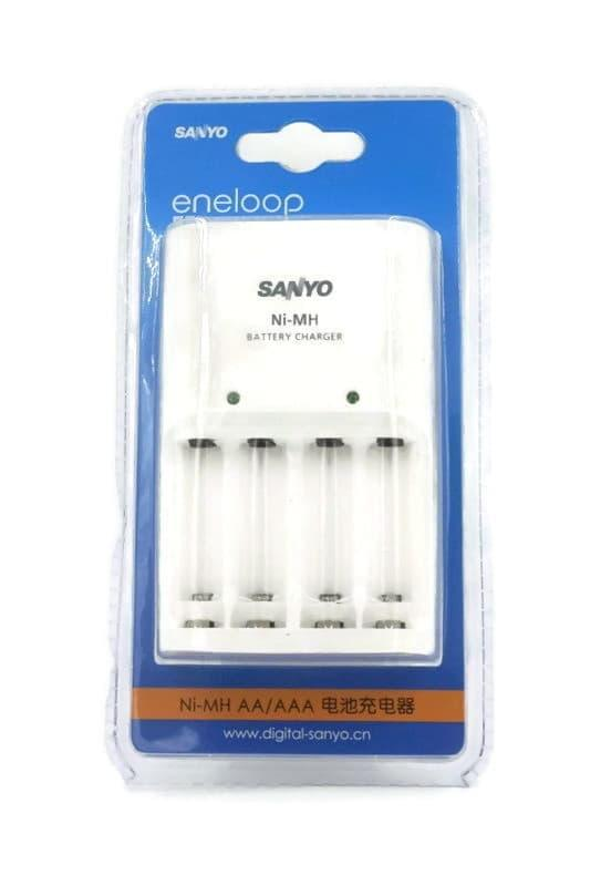 Best Seller Basic Charger Sanyo Eneloop for AA and AAA Battery (Tanpa Baterai)
