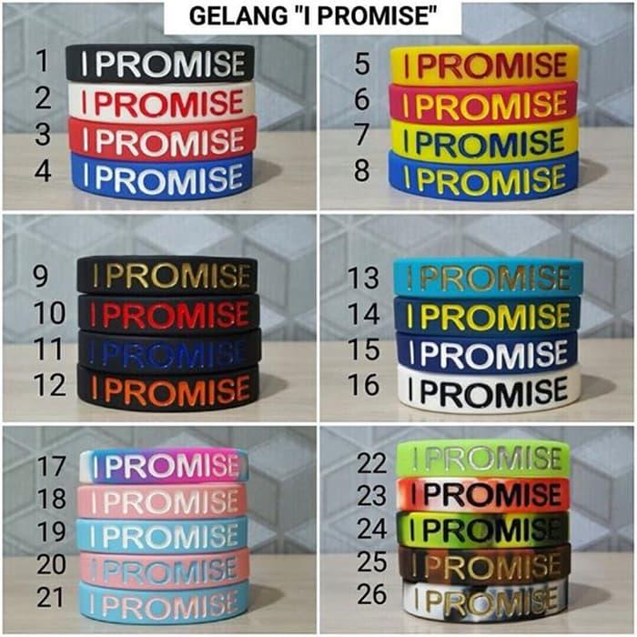 HOT PROMO!!! Gelang/Ballerband NBA Lebron James I Promise - aZP47G