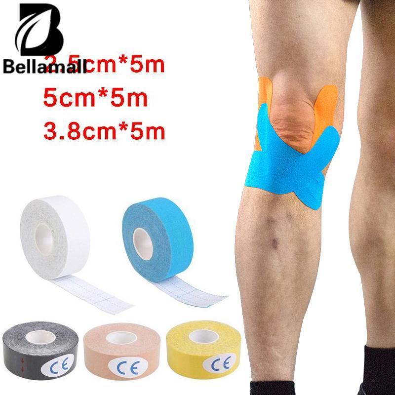 Bellamall Tahan Air Kinesiologi Olahraga Otot Elastis Fisio Terapi 2.5 Cm X 5 M-Intl