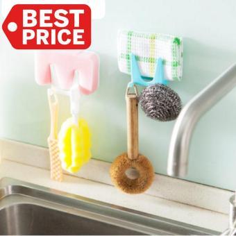 Shock Price TOKO49 - Alat Untuk Menggantung Peralatan Dapur diTtempel di Lemari best price - Hanya Rp7.202