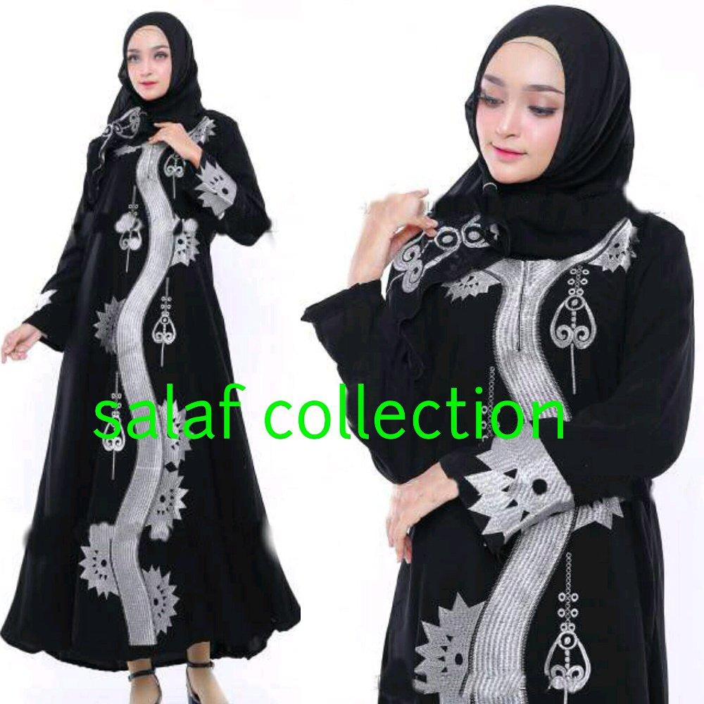 Buy Sell Cheapest Abaya Saudi Best Quality Product Deals Bordil Anak Arab Gamis Hitam Nordil Outfit Bordir