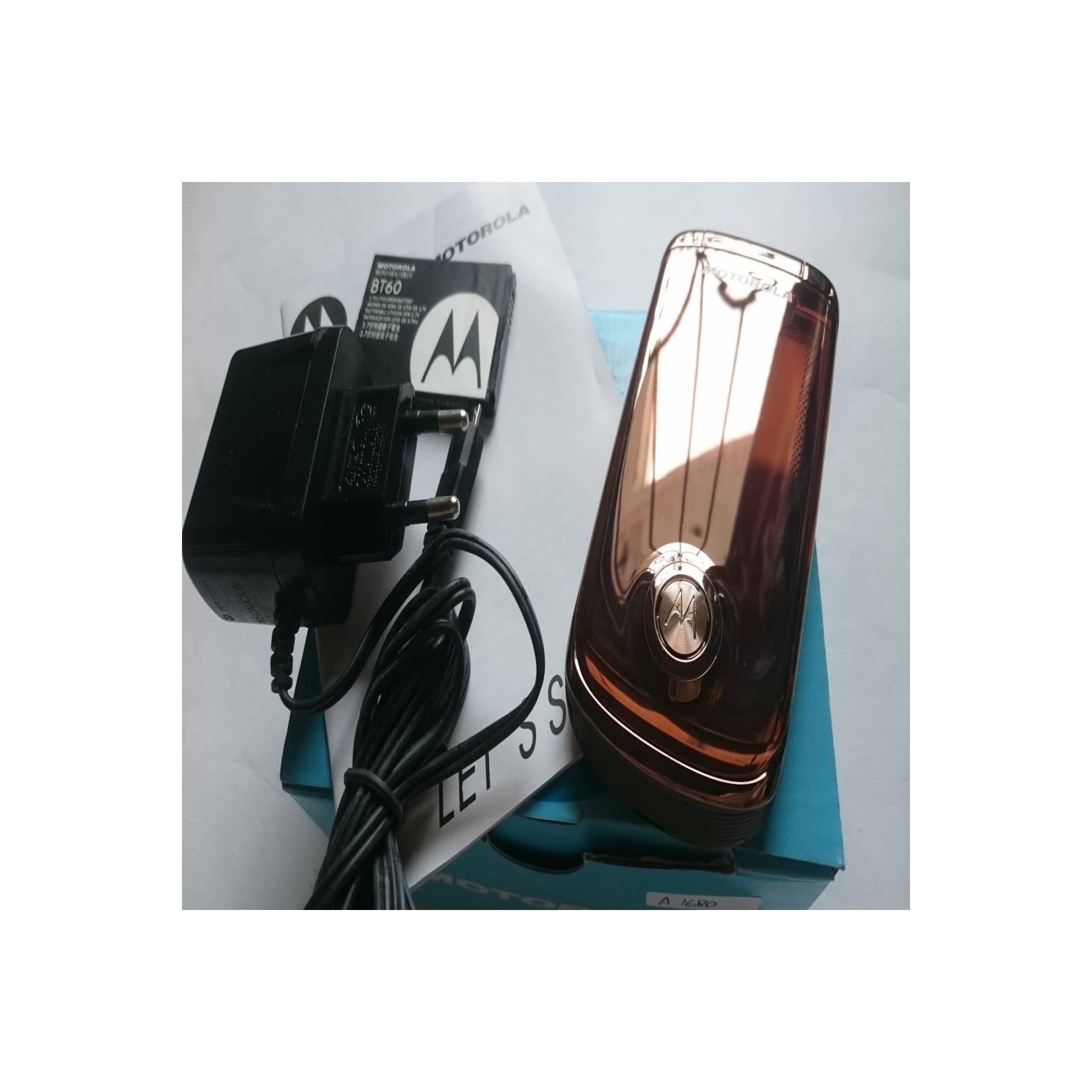 Motorola MING A1680 - Lucky 3G Rose Emas - HP Jadul Original