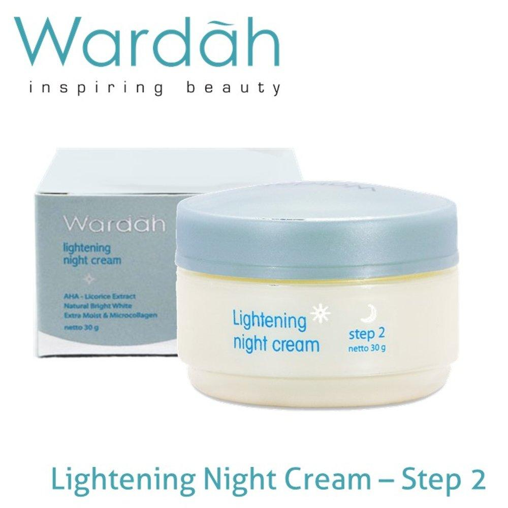 Wardah Lightening Night Cream Step 2 30 gr