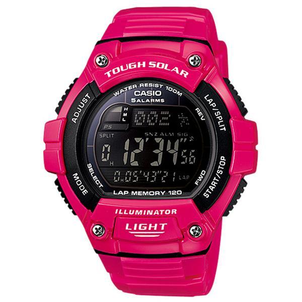 Casio Jam Tangan Unisex Casio Tough Solar W-S220C-4BVDF Illuminator Rubber Digital Watch