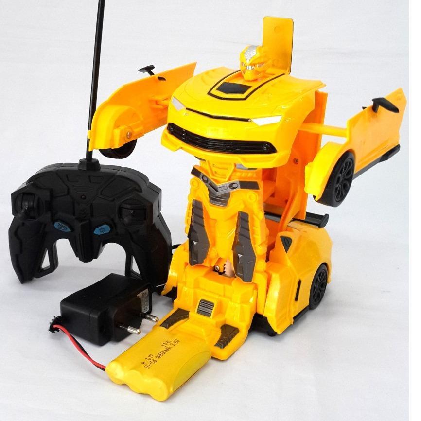 Terusjayatoys Mainan Mobil Remote Control Mobil Jadi Robot Transformer Car RC 10500