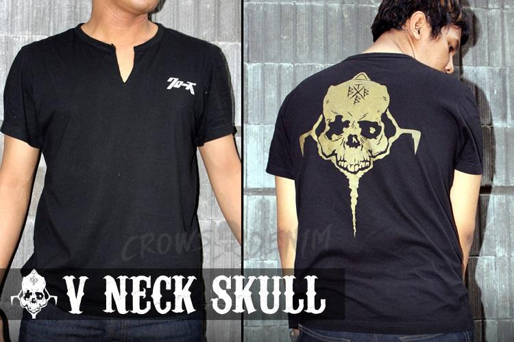 Seven - Kaos Keren Crows Zero Genji Skull Style