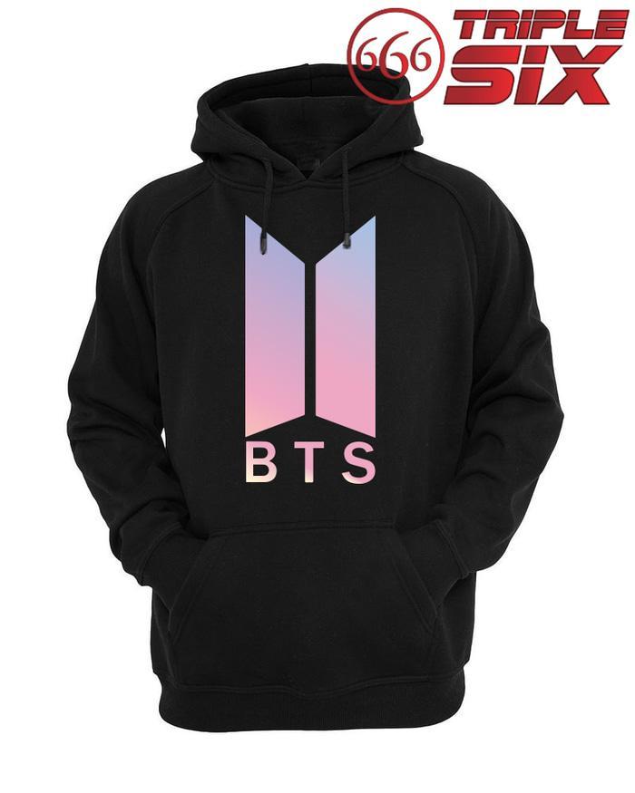 PROMO !! Jaket Hoodie BTS Logo Galaxy