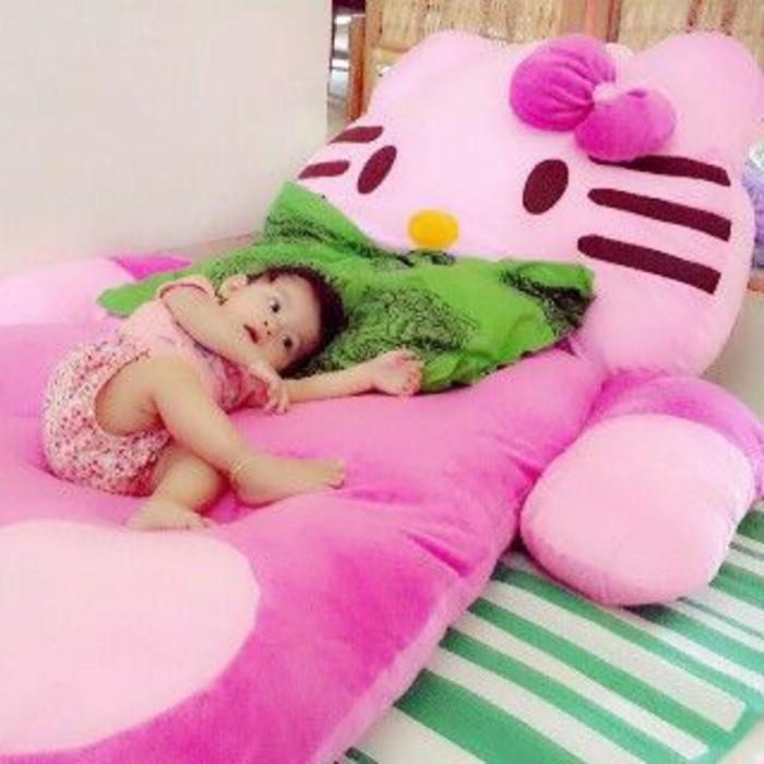 Matras Boneka Hello Kitty Dan Lain - Kasur Boneka Besar Tidur Anak - Czlmhj