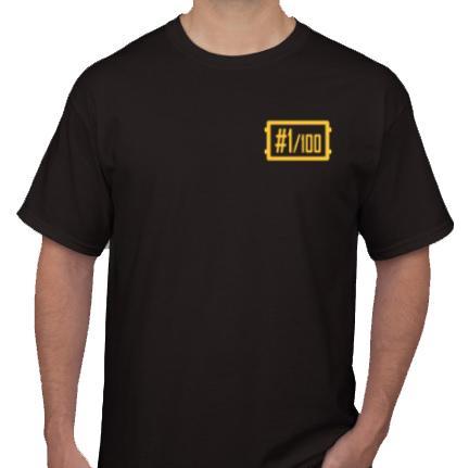 T-Shirt AR PUBG 1 Edition / Kaos Distro Murah / Kaos Distro Original Keren / Kaos Gamers / Kaos PUBG / Kaos PUBG Custom