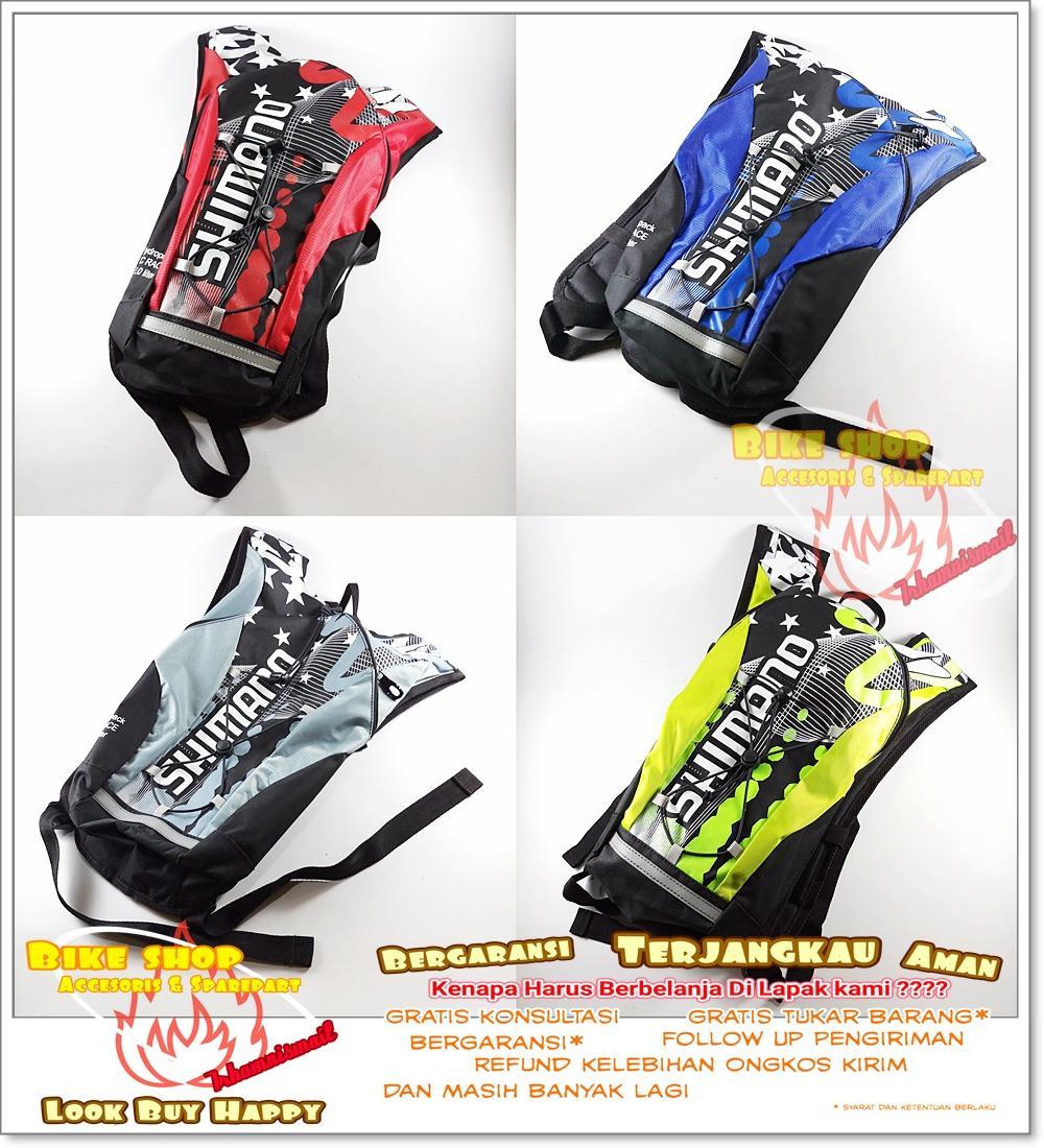 Tas Punggung Gendong Sepeda Shimano Hydropack Aneka Warna 2L XC