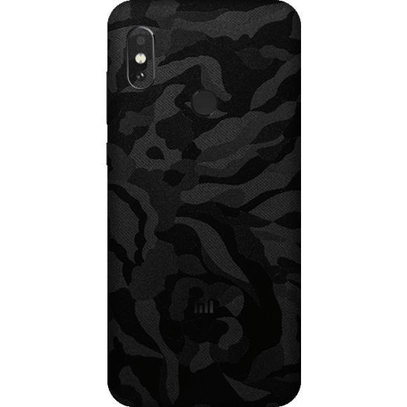Exacoat Xiaomi Redmi Note 5 / Note 5 Pro Skin / Garskin - Black Camo